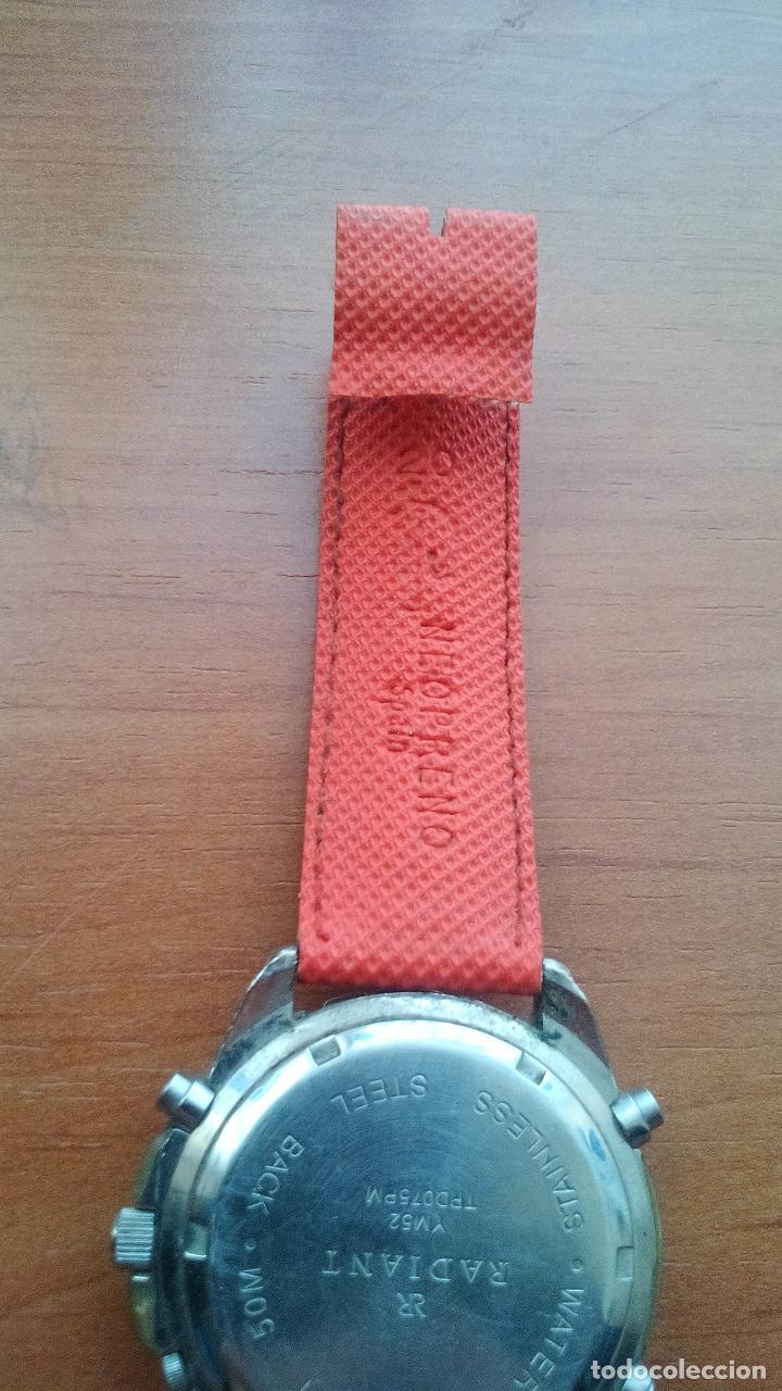 Relojes de carga manual: RELOJ RADIANT DE CABALLERO - MOD.YM52 TPD075PM - CON CORREA DE NEOPRENO - Foto 4 - 131272987