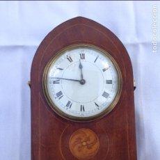 Relojes de carga manual: RELOJ INGLÉS DE CAOBA CON MARQUETERÍA. PPIOS S XX.. Lote 131386122