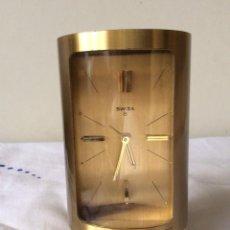 Relojes de carga manual: SWIZA 8 RELOJ DE SOBREMESA,FORMA CILÍNDRICA ,MUY RARO . Lote 131532270