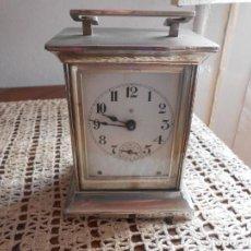 Relojes de carga manual: RELOJ DE CARRUAJE --ANSONIA CLOCK C.O.-AÑO 1920. Lote 131754318