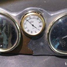 Relojes de carga manual: ANTIGUO RELOJ PRESTIGE QUARTZ , PLATEADO Y DORADO, DECORACIÓN , VER FOTOS. Lote 132212226