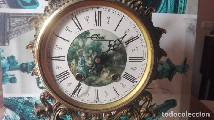 Relojes de carga manual: RELOJ CLÁSICO DE SOBREMESA MARCA EBORI. - Foto 2 - 132244870