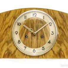 Relojes de carga manual: ANTIGUO RELOJ DE SOBREMESA ORIGEN ALEMAN,GUSTAV BECKER, 1920, FUNCIONANDO . Lote 132335834