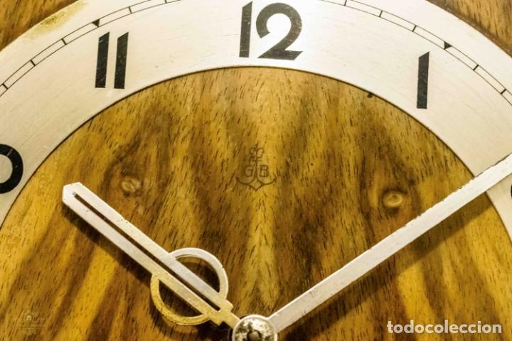 Relojes de carga manual: ANTIGUO RELOJ DE SOBREMESA ORIGEN ALEMAN,GUSTAV BECKER, 1920, FUNCIONANDO - Foto 4 - 132335834