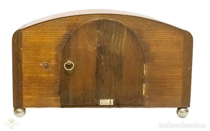 Relojes de carga manual: ANTIGUO RELOJ DE SOBREMESA ORIGEN ALEMAN,GUSTAV BECKER, 1920, FUNCIONANDO - Foto 5 - 132335834