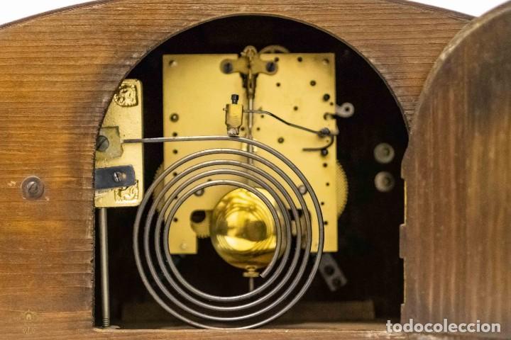Relojes de carga manual: ANTIGUO RELOJ DE SOBREMESA ORIGEN ALEMAN,GUSTAV BECKER, 1920, FUNCIONANDO - Foto 6 - 132335834