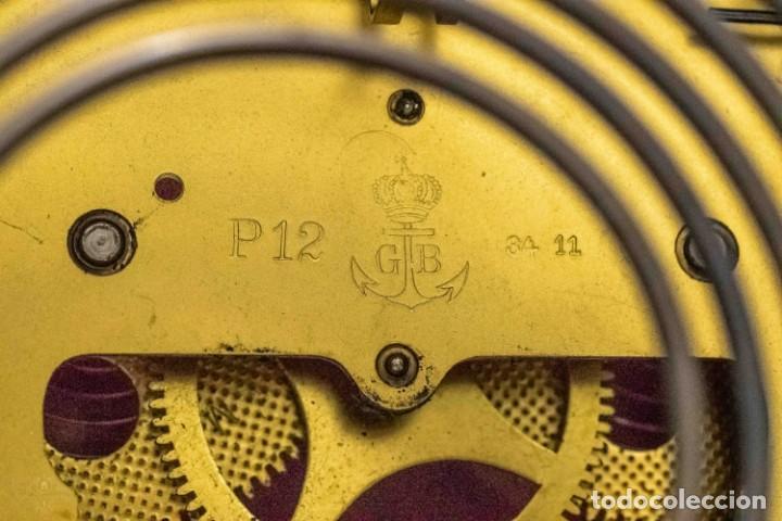 Relojes de carga manual: ANTIGUO RELOJ DE SOBREMESA ORIGEN ALEMAN,GUSTAV BECKER, 1920, FUNCIONANDO - Foto 7 - 132335834