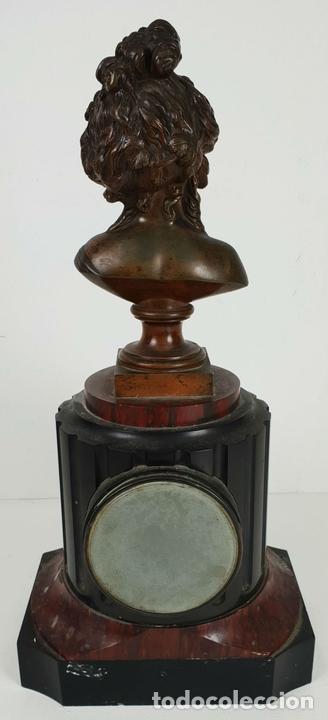 Relojes de carga manual: RELOJ ESCULTURA. DROUARD. PARIS. ESTILO ART NOUVEAU. SIGLO XIX-XX. - Foto 8 - 132473986