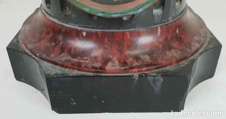 Relojes de carga manual: RELOJ ESCULTURA. DROUARD. PARIS. ESTILO ART NOUVEAU. SIGLO XIX-XX. - Foto 11 - 132473986