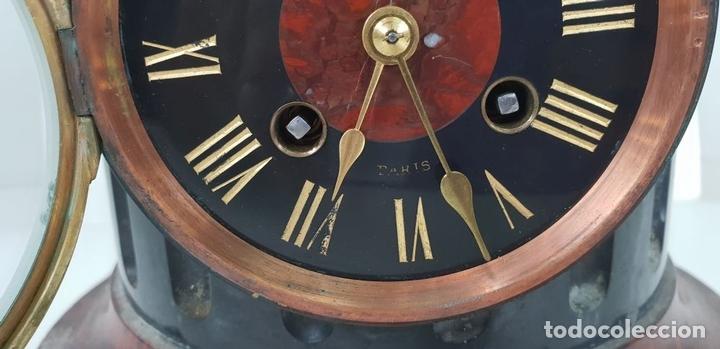 Relojes de carga manual: RELOJ ESCULTURA. DROUARD. PARIS. ESTILO ART NOUVEAU. SIGLO XIX-XX. - Foto 14 - 132473986