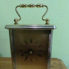 Relojes de carga manual: RELOJ DE CARRUAJE CON MAQUINARIA DE CUARZO FUNCIONANDO.. Lote 132517838