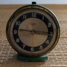 Relojes de carga manual: RELOJ DESPERTADOR - TITAN. Lote 134975926