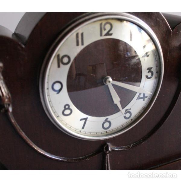 Relojes de carga manual: Antiguo reloj de sobremesa - Foto 4 - 135449042