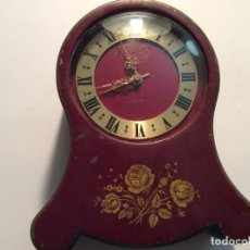 Relojes de carga manual: RELOJ DE SOBREMESA JAEGER-PETITE-NEUCHATELOISE CON ALARMA AÑO 1940 100% ORIGINAL. Lote 139754854
