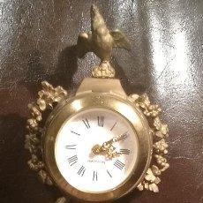 Relojes de carga manual: RELOJ FRANCES DE CALAMINA CIRCA 1900. Lote 136058114