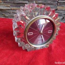 Relojes de carga manual: RELOJ MARCA MERCEDES. CRISTAL TALLADO. FUNCIONA PERFECTO 1960 ALEMANIA. Lote 136263606