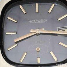 Relojes de carga manual: RELOJ VINTAGE SUPER WATCH 17 RUBIS A DESTACAR SEGUNDERO. Lote 136358150