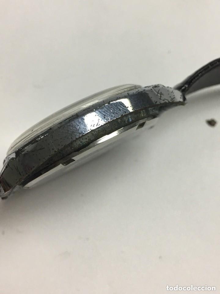 Relojes de carga manual: RELOJ VINTAGE CAUNY PRIMA LUPA CRISTAL PARA VER DIAL,BUEN ESTADO - Foto 5 - 136359806