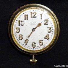 Relojes de carga manual: 7 CMTS.RARO RELOJ COCHE.SUIZO.FUNCIONA, AUTOMOVIL. Lote 136465978