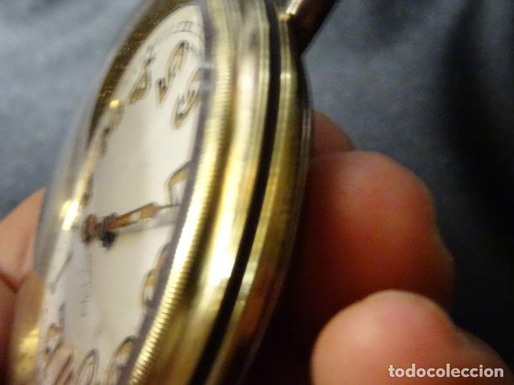 Relojes de carga manual: Rarisimo reloj - Oclee & Son- Ingles.Para salpicadero coche.Años 120.Original.Funciona.automovil - Foto 4 - 136465978