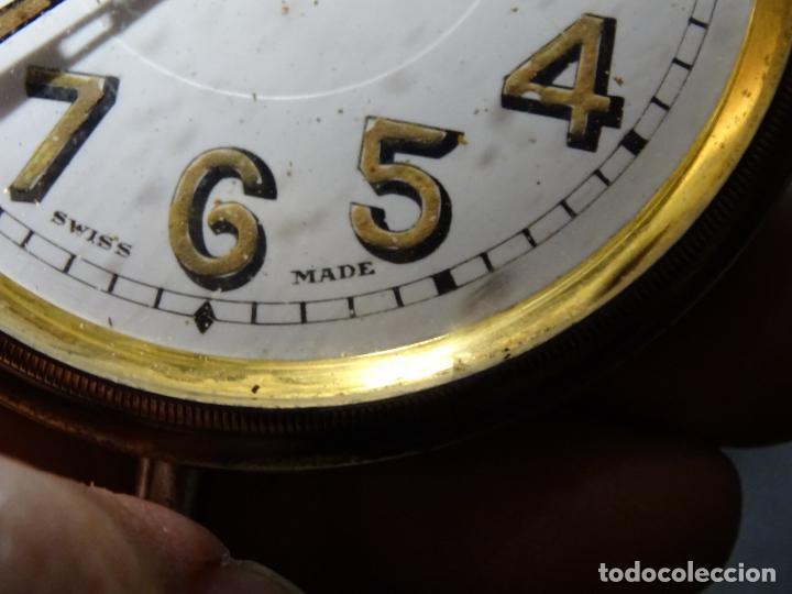 Relojes de carga manual: Rarisimo reloj - Oclee & Son- Ingles.Para salpicadero coche.Años 120.Original.Funciona.automovil - Foto 5 - 136465978