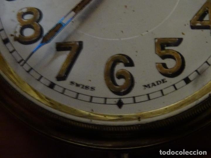 Relojes de carga manual: Rarisimo reloj - Oclee & Son- Ingles.Para salpicadero coche.Años 120.Original.Funciona.automovil - Foto 9 - 136465978