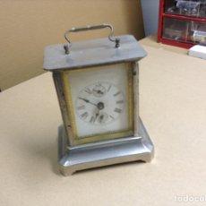 Relojes de carga manual: ANTIGUO RELOJ SOBREMESA FUNCIONANDO. Lote 136718914