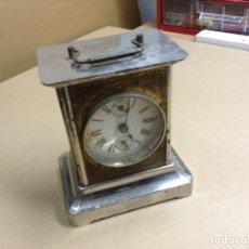 Relojes de carga manual: ANTIGUO RELOJ DE SOBREMESA . FUNCIONANDO. Lote 136720686