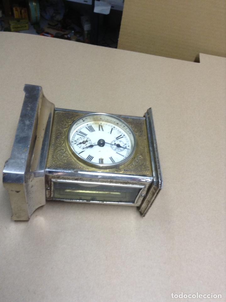 Relojes de carga manual: Antiguo reloj de sobremesa . Funcionando - Foto 2 - 136720686