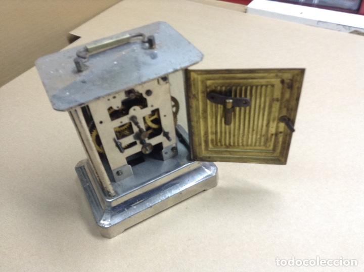 Relojes de carga manual: Antiguo reloj de sobremesa . Funcionando - Foto 3 - 136720686