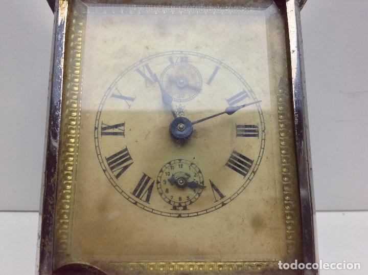 Relojes de carga manual: ANTIGUO RELOJ TIPO CARRUAJE -JUNGHANS ALEMAN CON SONERIA - FUNCIONA - Foto 2 - 136725098
