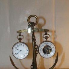 Relojes de carga manual: RELOJERA CON FORMA DE ANCLA. Lote 137615150