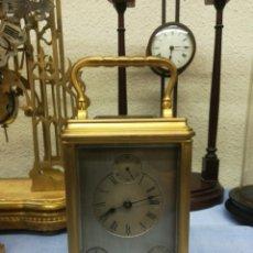Relojes de carga manual: RELOJ DE CABECERA CALENDARIO. Lote 137925648