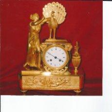 Relojes de carga manual: RELOJ IMPERIO FRANCÉS, HORAS Y MEDIAS.. Lote 138172126