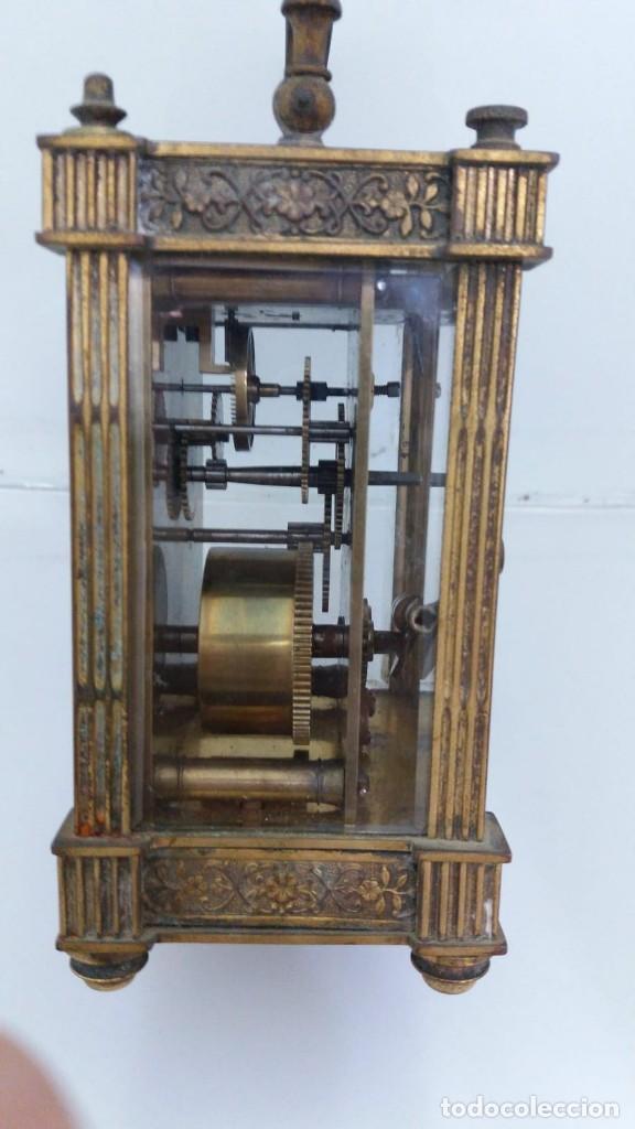 Relojes de carga manual: RELOJ CARRUAJE CRISTALES BISELADOS - Foto 2 - 138559530