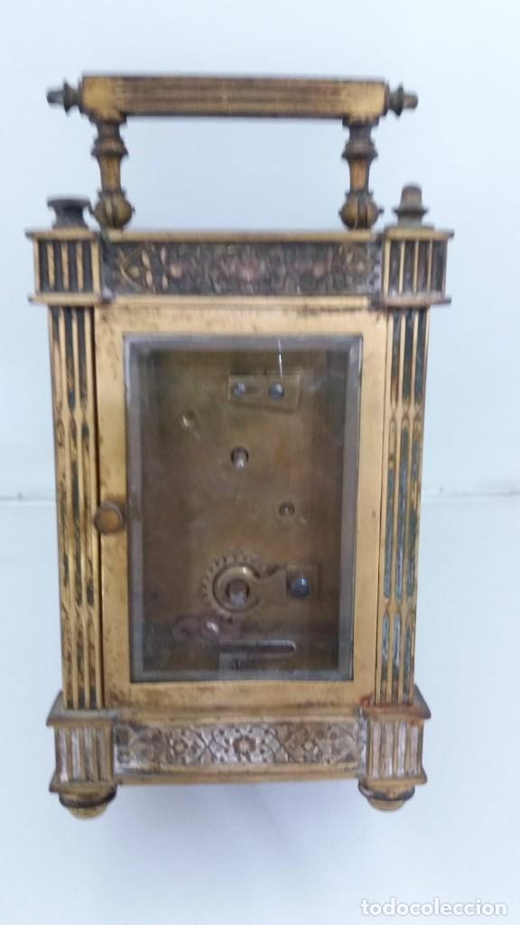 Relojes de carga manual: RELOJ CARRUAJE CRISTALES BISELADOS - Foto 3 - 138559530