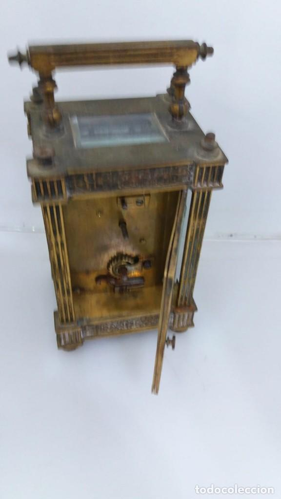 Relojes de carga manual: RELOJ CARRUAJE CRISTALES BISELADOS - Foto 4 - 138559530