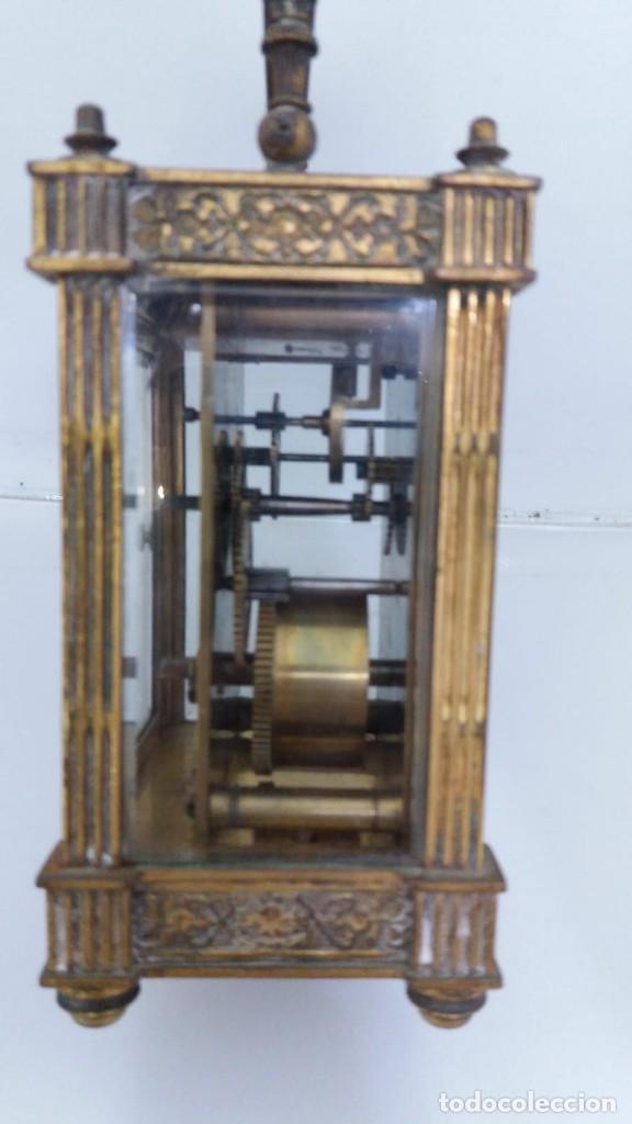 Relojes de carga manual: RELOJ CARRUAJE CRISTALES BISELADOS - Foto 5 - 138559530