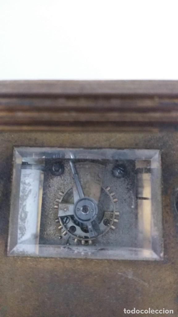 Relojes de carga manual: RELOJ CARRUAJE CRISTALES BISELADOS - Foto 7 - 138559530