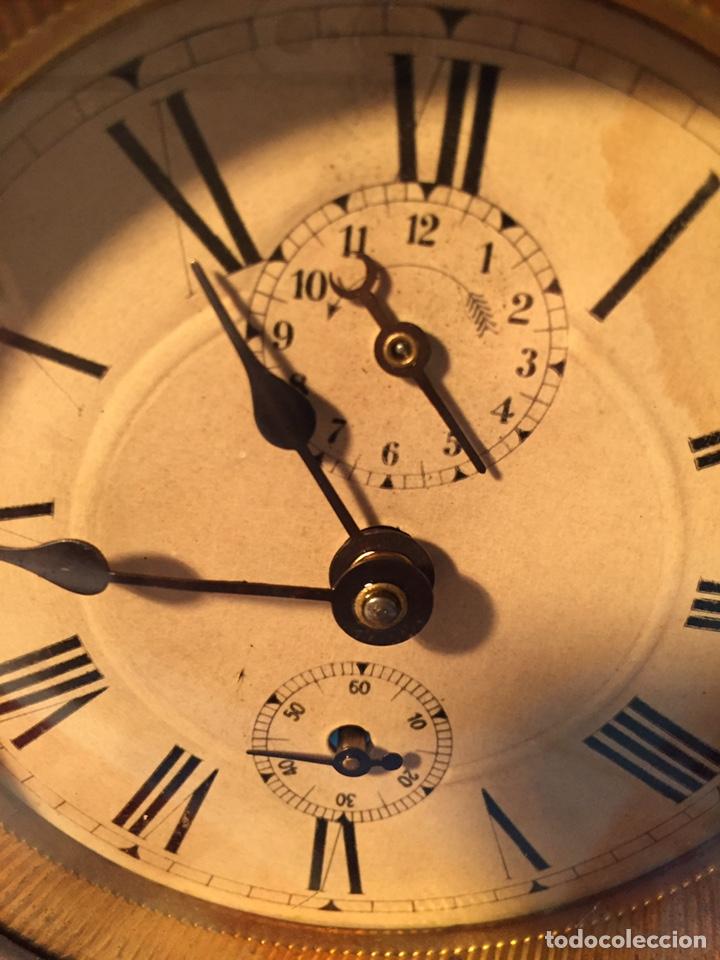 Relojes de carga manual: Antiguo reloj de sobremesa, Medaille d'or 1900 - Foto 3 - 139242432