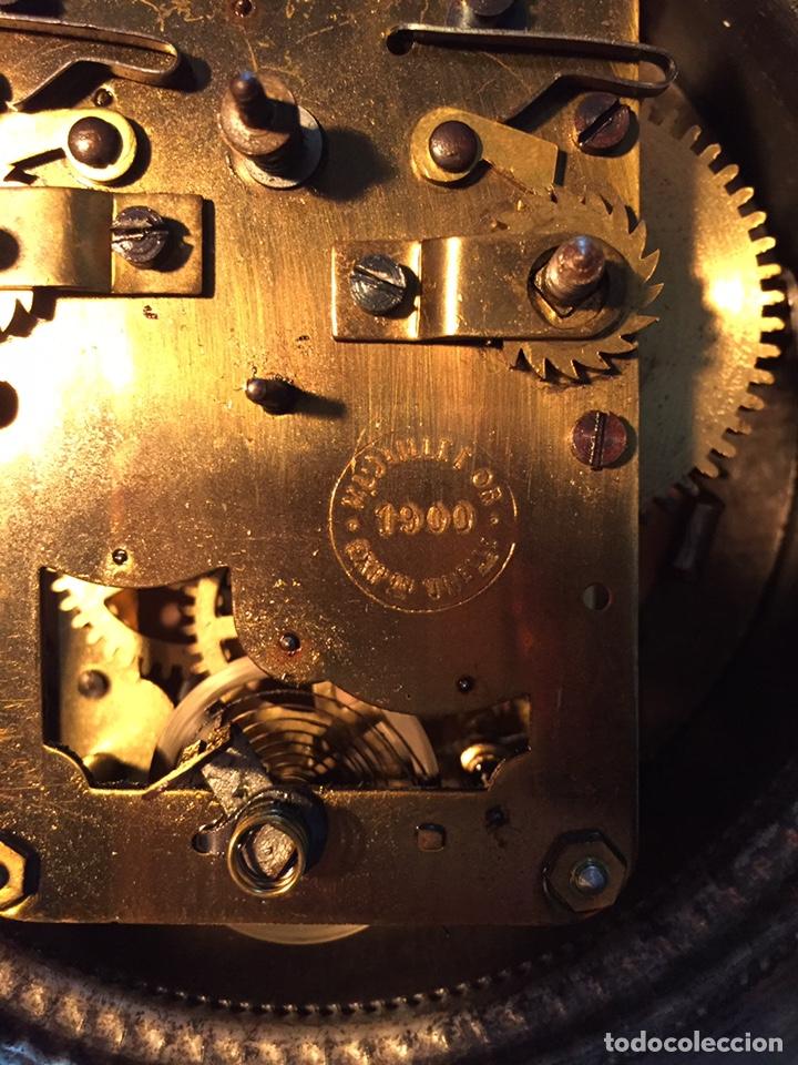 Relojes de carga manual: Antiguo reloj de sobremesa, Medaille d'or 1900 - Foto 5 - 139242432
