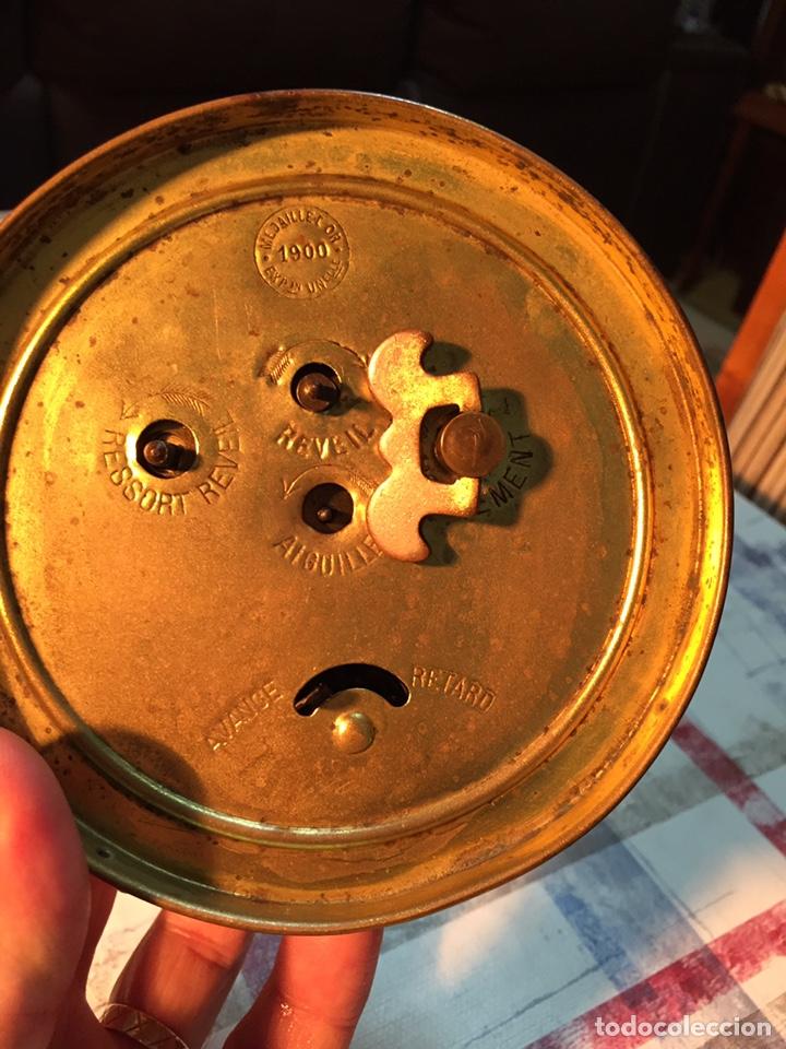 Relojes de carga manual: Antiguo reloj de sobremesa, Medaille d'or 1900 - Foto 6 - 139242432