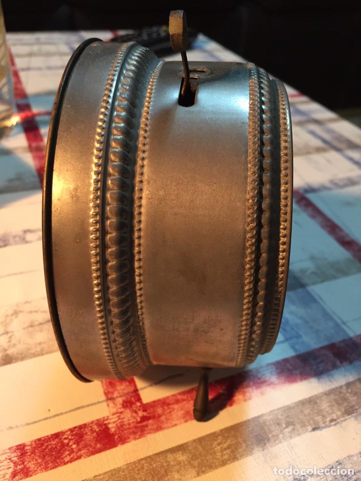 Relojes de carga manual: Antiguo reloj de sobremesa, Medaille d'or 1900 - Foto 8 - 139242432