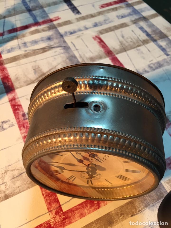 Relojes de carga manual: Antiguo reloj de sobremesa, Medaille d'or 1900 - Foto 10 - 139242432
