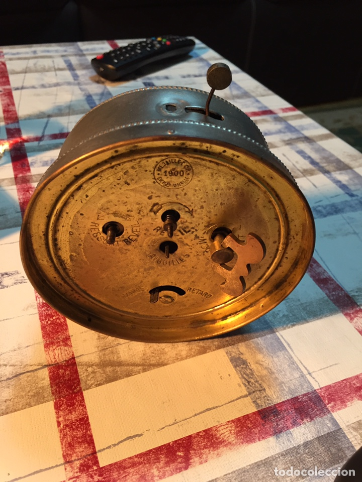 Relojes de carga manual: Antiguo reloj de sobremesa, Medaille d'or 1900 - Foto 11 - 139242432