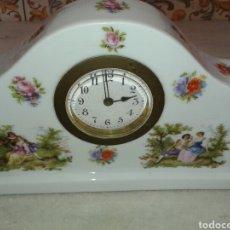 Relojes de carga manual: ANTIGUO RELOJ PORCELANA. Lote 139630212