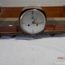 Relojes de carga manual: RELOJ ART DECO MAQUINARIA ALEMANA. Lote 139649590