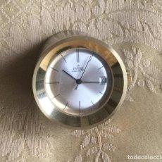 Relojes de carga manual: RELOJ DE SOBREMESA CARGA MANUAL POTENS 17 RUBÍS CON CALENDARIO FUNCIONA. Lote 139671666
