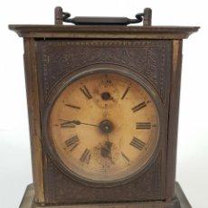 Orologi di carica manuale: RELOJ DE SOBREMESA DE CARRUAJE. JUNGHANS. ALEMANIA. SIGLO XIX-XX.. Lote 139941770