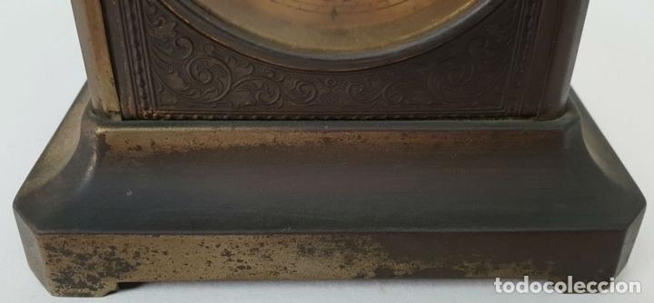 Relojes de carga manual: RELOJ DE SOBREMESA DE CARRUAJE. JUNGHANS. ALEMANIA. SIGLO XIX-XX. - Foto 5 - 139941770